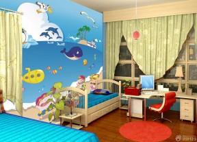 70平米兩房裝修效果圖 兒童房樣板間