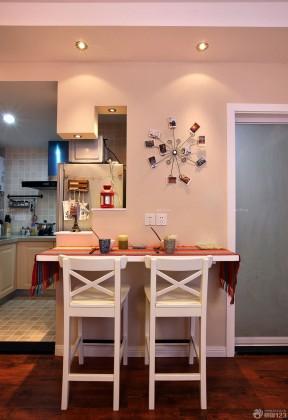 70-80平方小戶型裝修 餐廳設計裝修效果圖片