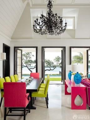 100平方米別墅圖片大全 家庭裝修混搭風格