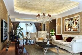 100平方米別墅圖片大全 歐式家裝設計效果圖