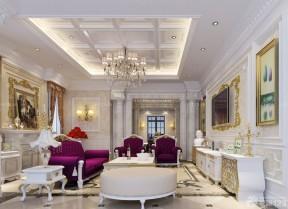 100平方米別墅圖片大全 歐式風格室內設計