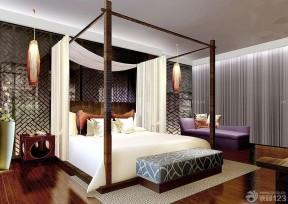 100平方米別墅圖片大全 雙人床裝修效果圖片