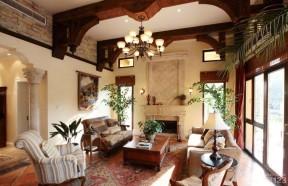 100平方米別墅圖片大全 美式鄉村風格裝修效果圖片