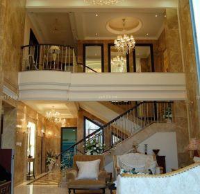 100平米楼中楼楼梯设计装修效果图-每日推荐