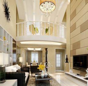 2020现代家装100平米楼中楼装修效果图-每日推荐