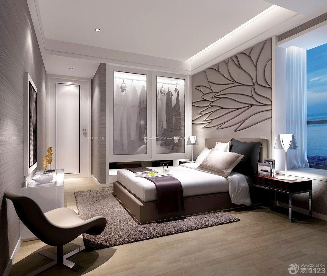 80平小房子卧室背景墙装修效果图图片