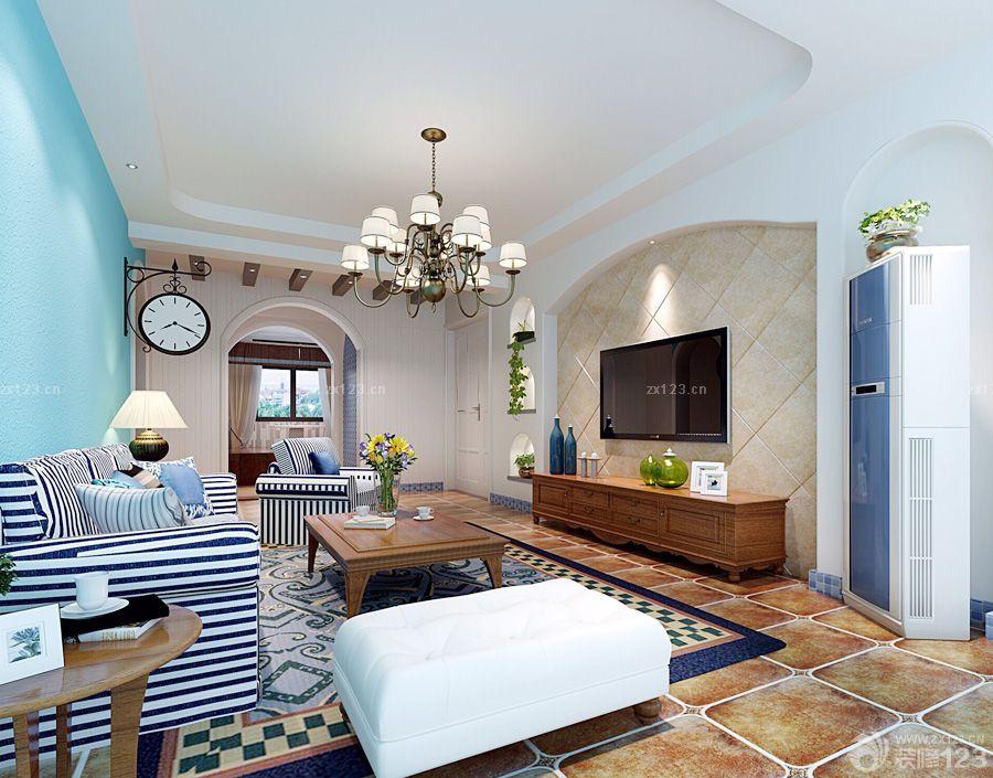 美式家装100平方房子装修效果图