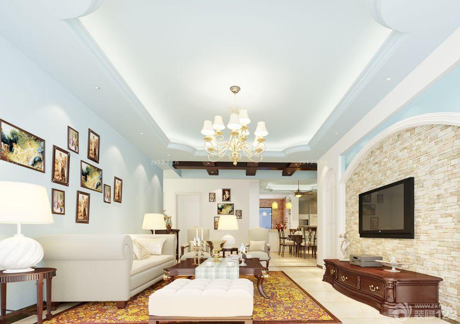 现代家装100平方房子装修效果图