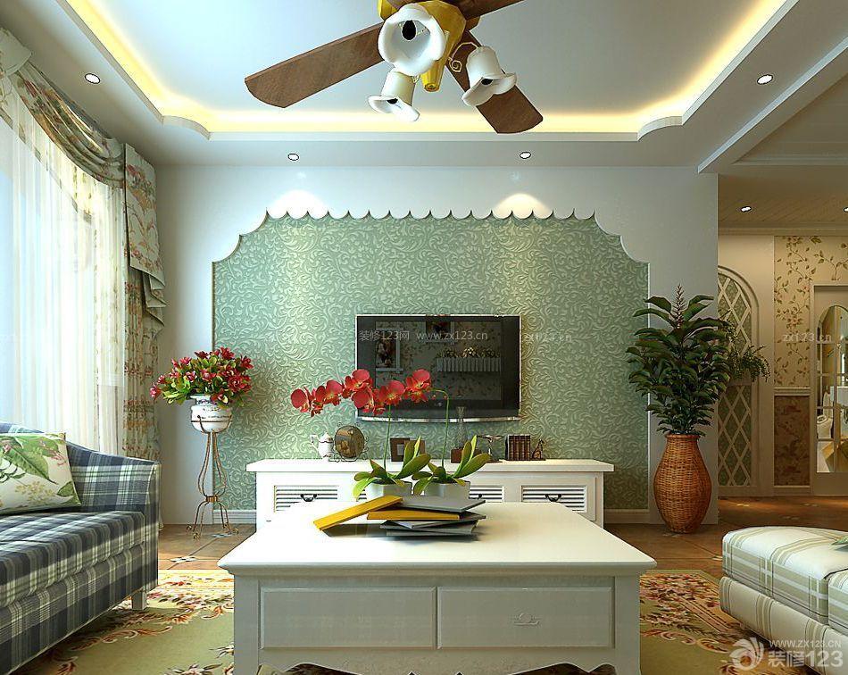 家装地中海风格90平米小三房装修图片