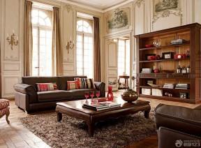 120平米家裝設計 歐美風格家裝