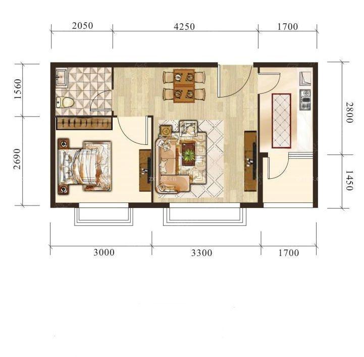 住宅户型平面设计图纸