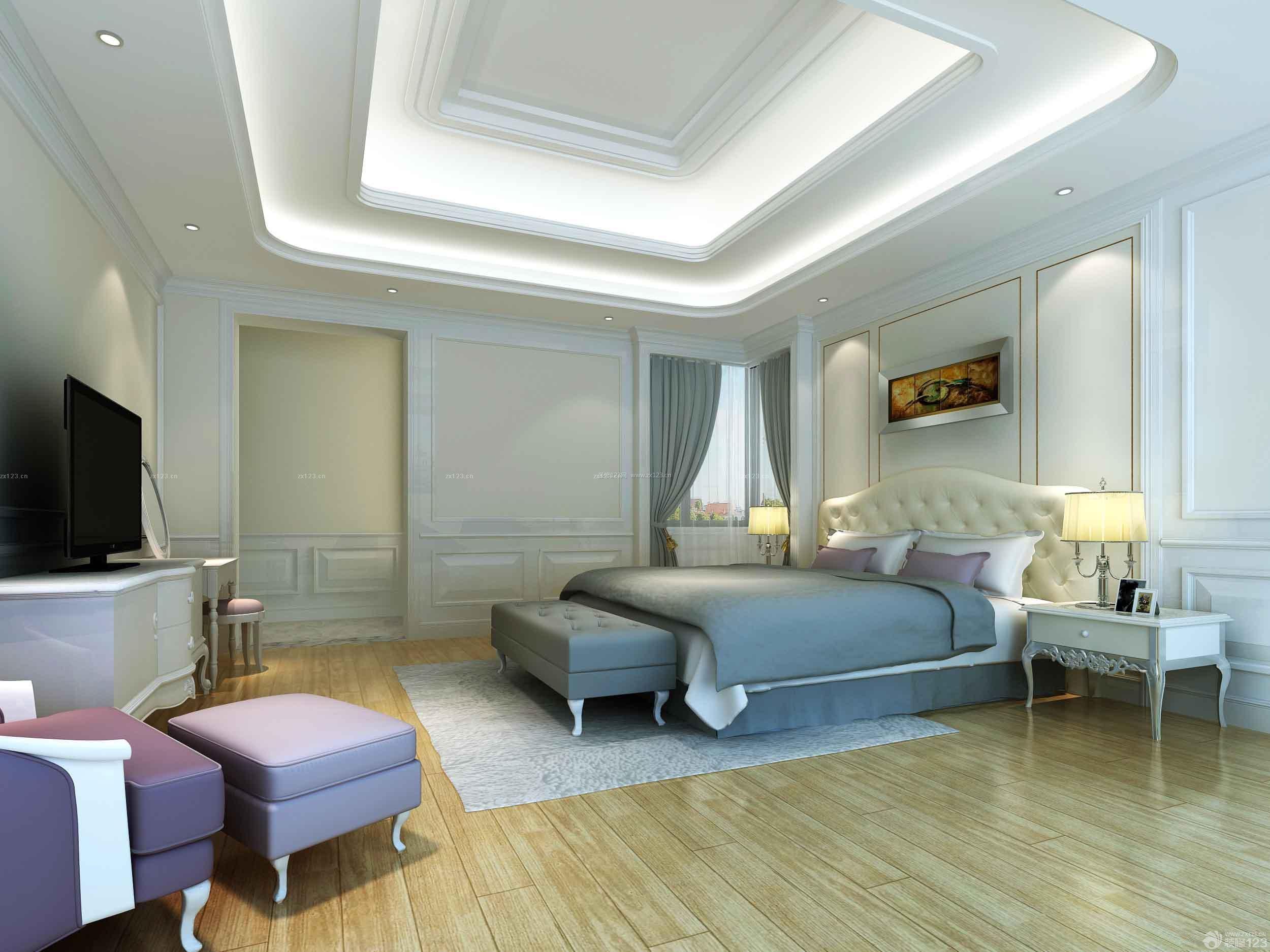 温馨小户型80多平米的房子卧室装修效果图