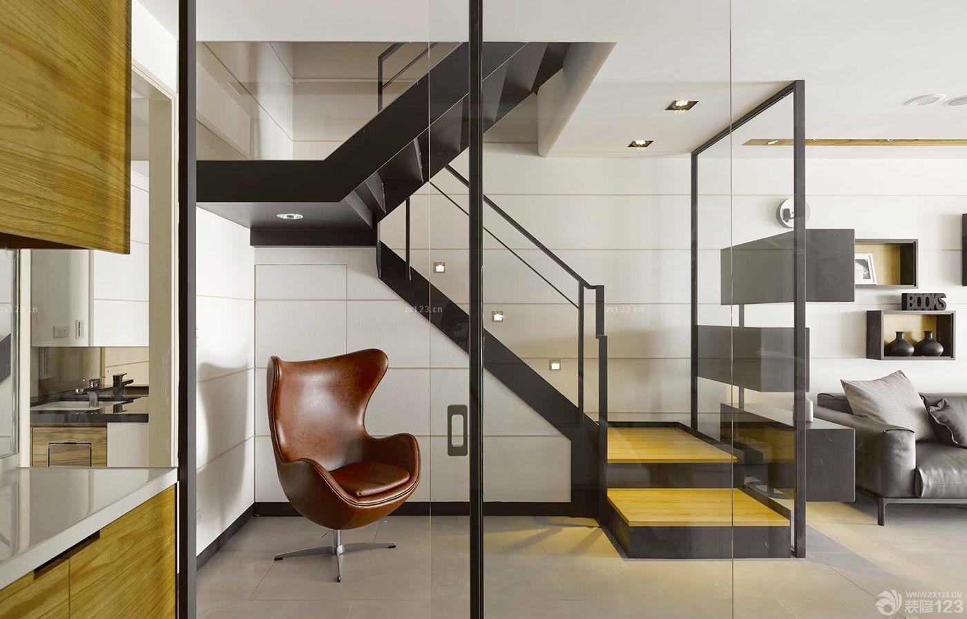 紧凑60平方两室一厅小复式楼装修效果图大全
