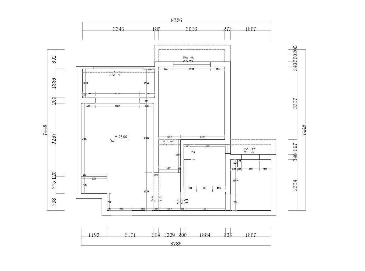 最新70平米房屋小户型平面图大全