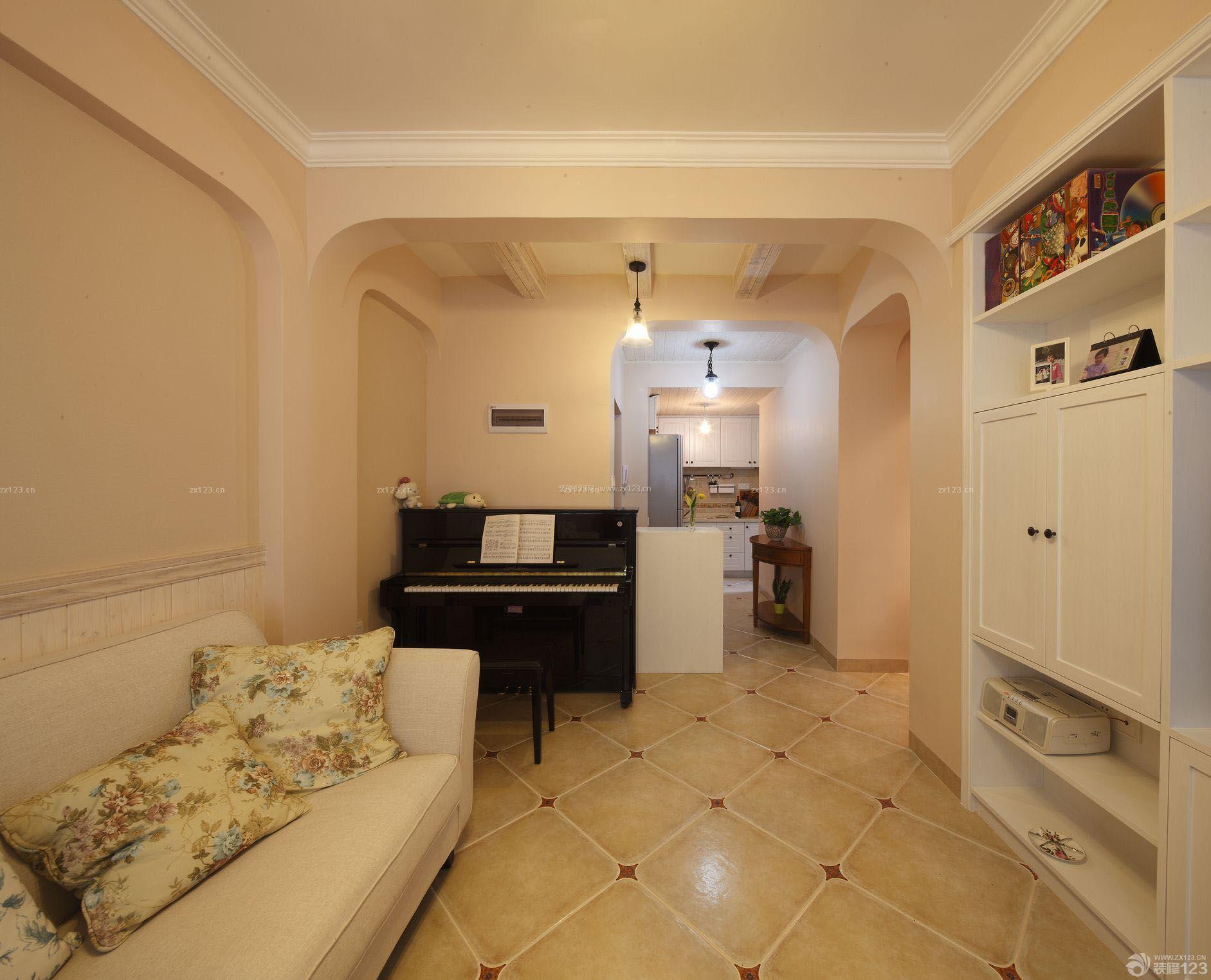 现代欧式风格130平米房子装修效果图设计