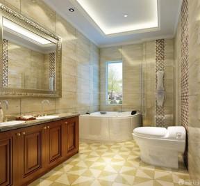 130平米房子装修效果图 整体浴室图片