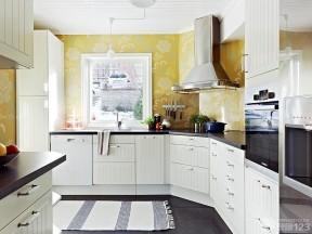 70平米復式樓裝修 整體廚房裝修效果圖