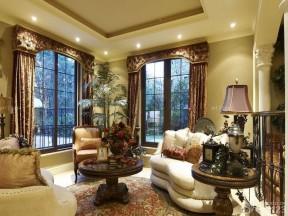 70平米復式樓裝修 美式風格家居裝修圖片