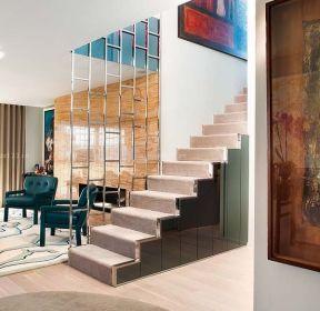 70平米復式樓房屋樓梯裝修設計圖-每日推薦
