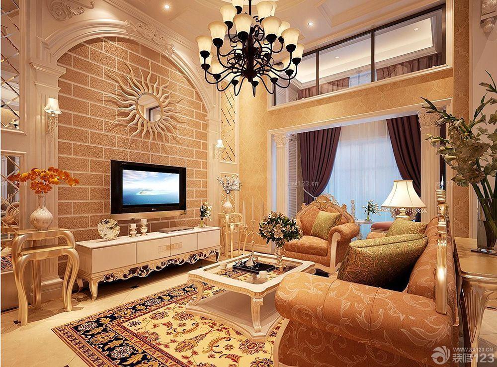 150平方独栋别墅欧式室内装修图片大全欣赏