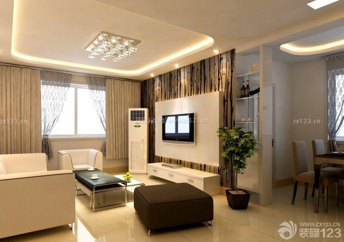 80平米小户型客厅沙发摆放装修效果图