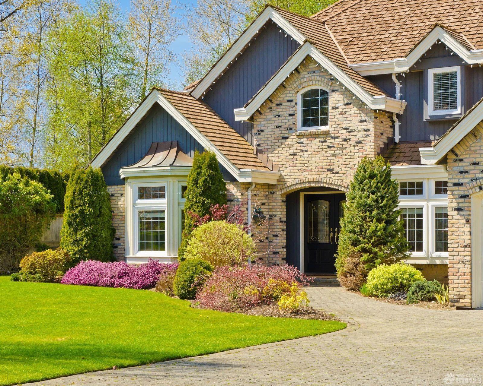 小美式二层别墅农村小风格v二层效果图_装修1120别墅设计图平米二层图片