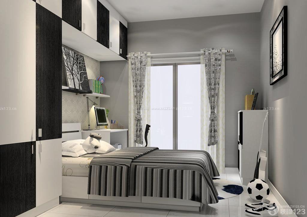 70平米房屋男生卧室装修设计效果图片