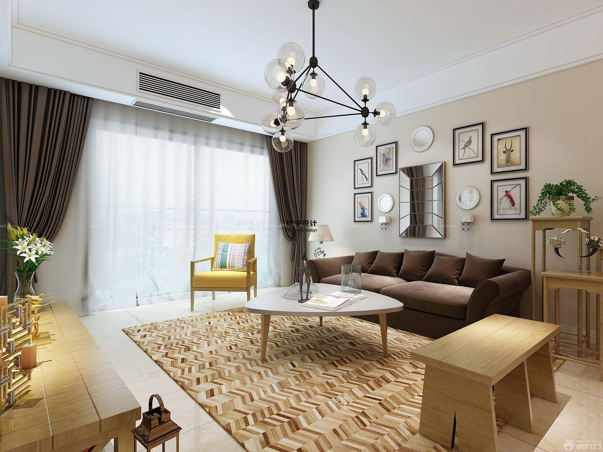 简约风格客厅装修效果图