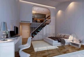 70-80平米房屋裝修 小復式樓裝修樣板間圖片