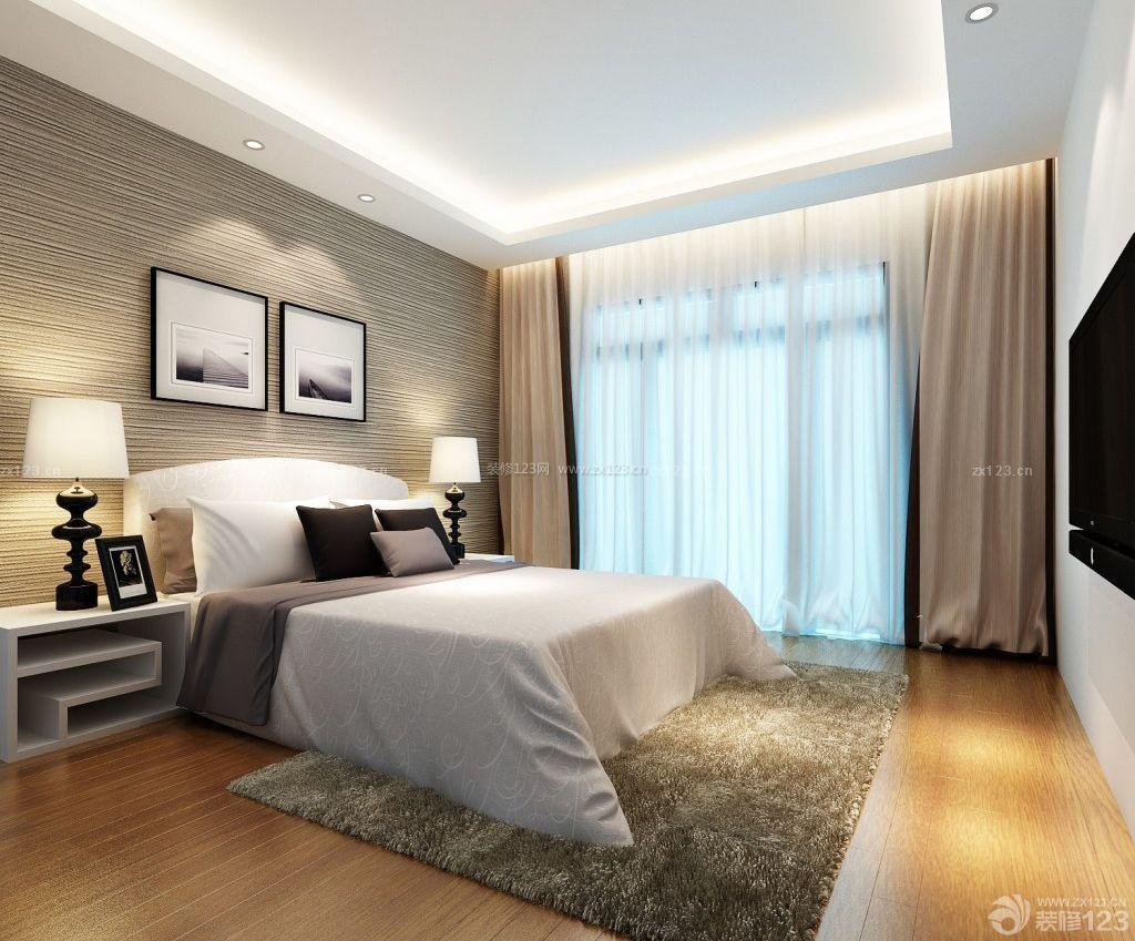 90平米简欧风格小户型住宅装修效果图图片