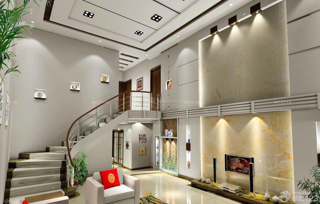 简约风格150平米复式楼装修设计图图片
