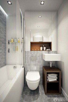 60平米2室1廳裝修 衛生間設計裝修效果圖片