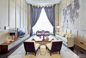 130平米簡單裝修設計圖 家裝客廳裝修效果圖片