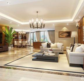 130平米大客廳簡單裝修設計圖-每日推薦