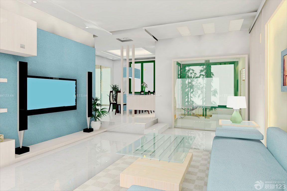 现代时尚简约120平米房屋装修效果图大全