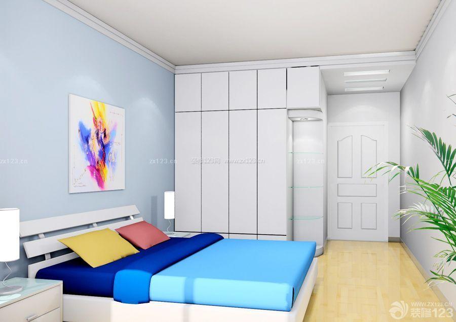 简约风格130平三室两厅两卫装修效果图案例