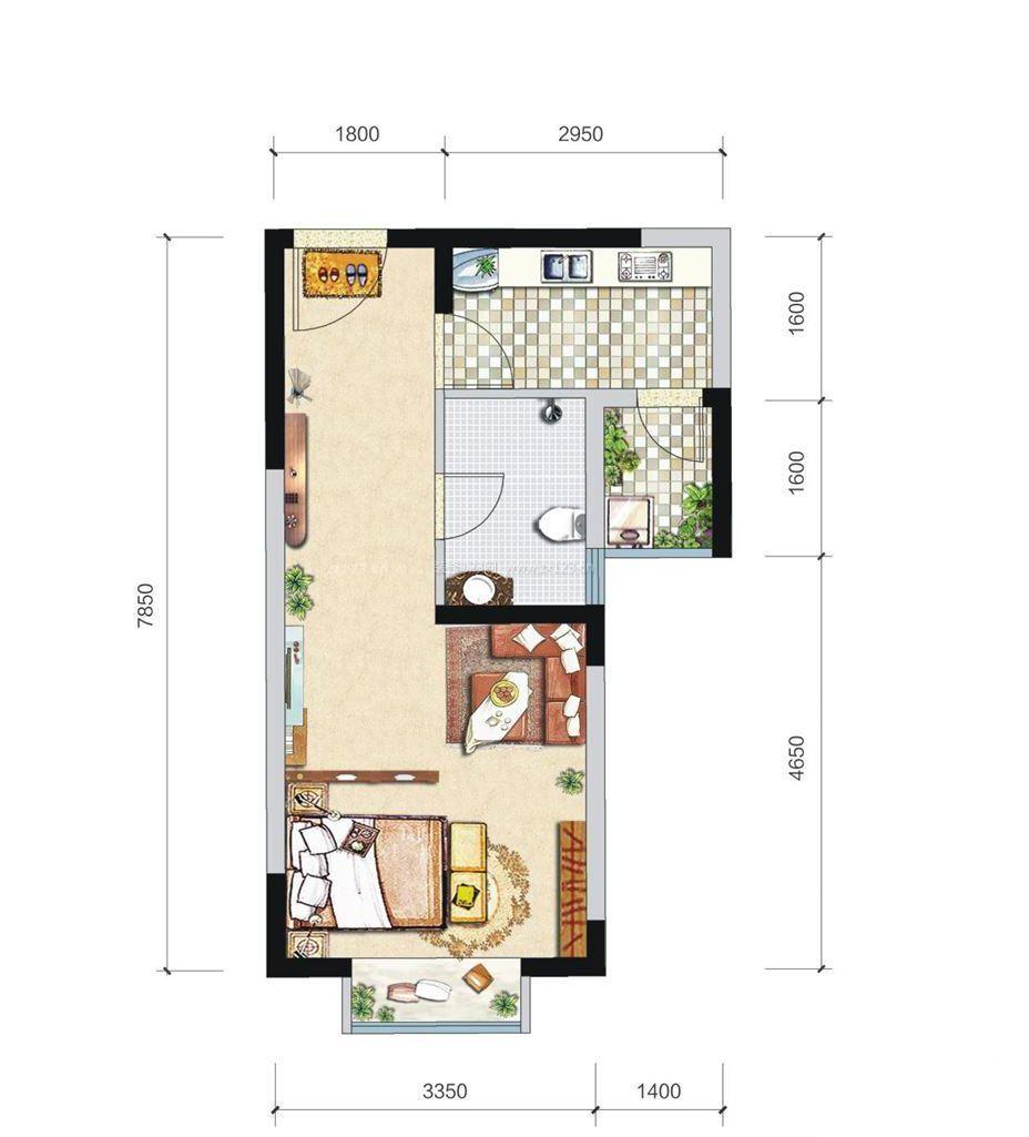 自建120平米房屋平面图图片