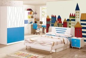 70平米裝修樣板間 兒童房設計裝修效果圖片