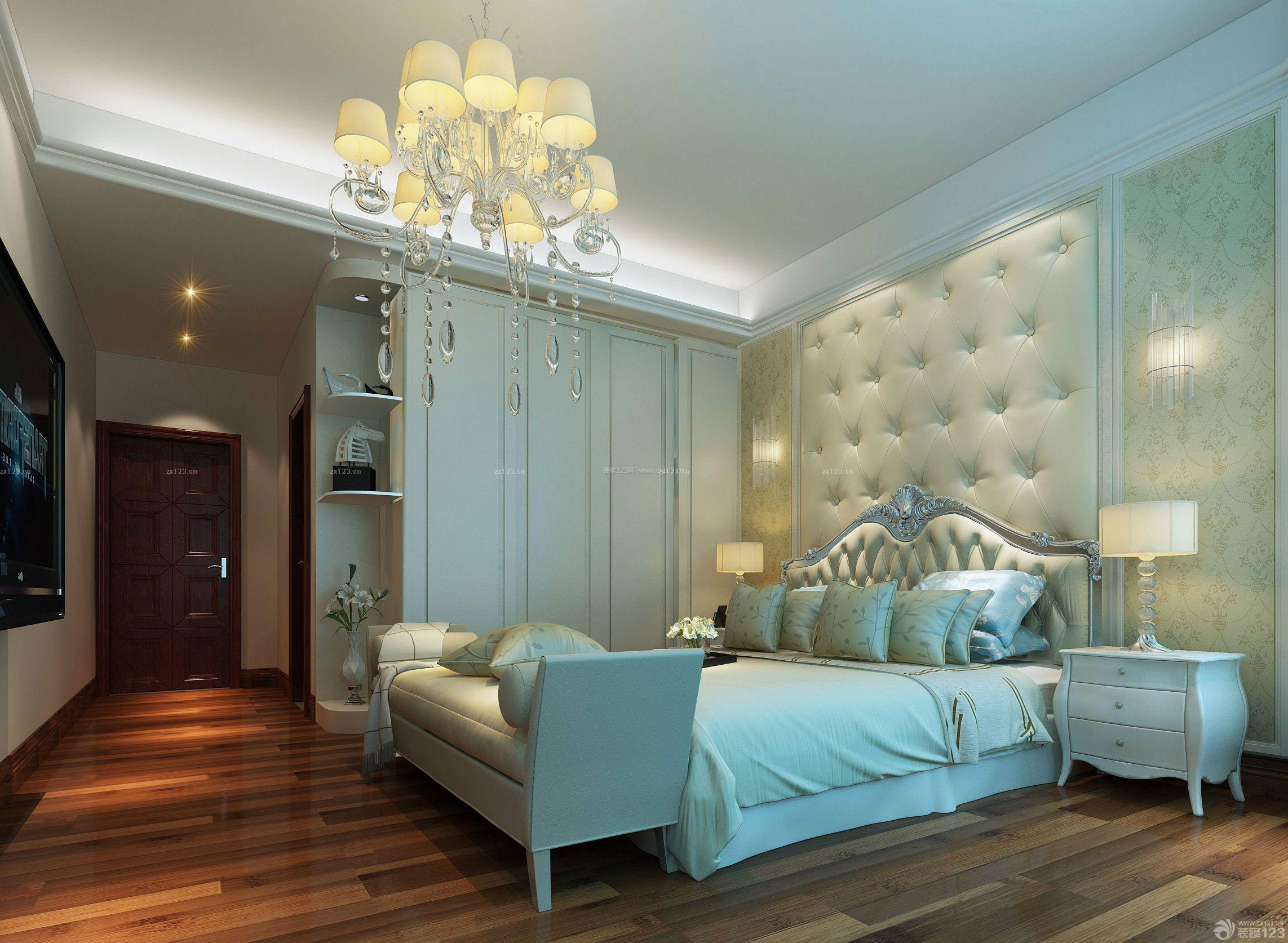 80平米小户型主卧室装修效果图