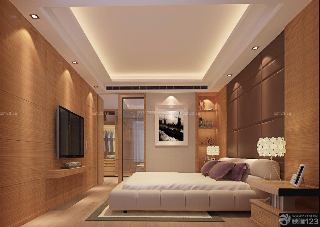 140平方米房屋卧室背景墙装修效果图