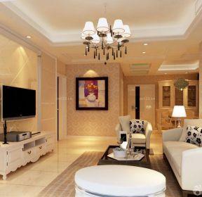 簡歐式風格90平米房子裝修樣板間-每日推薦