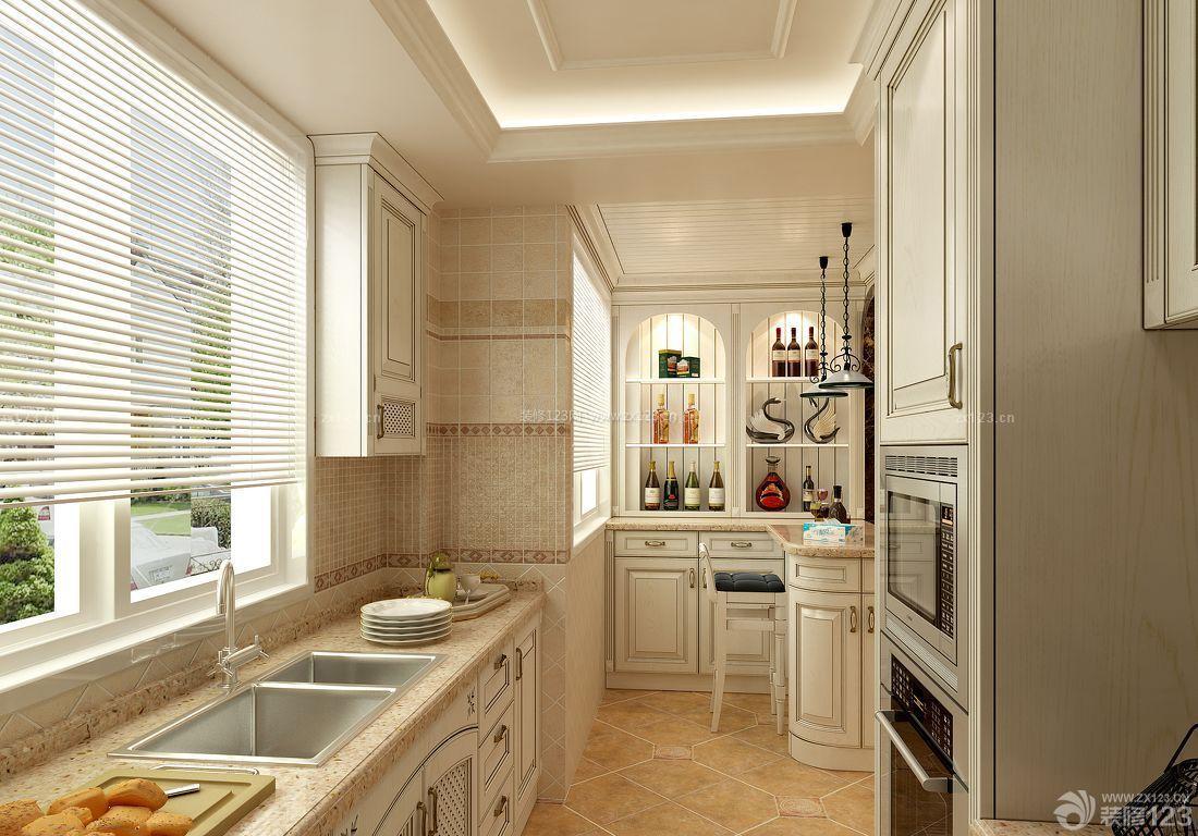 整体厨房橱柜酒柜装修效果图