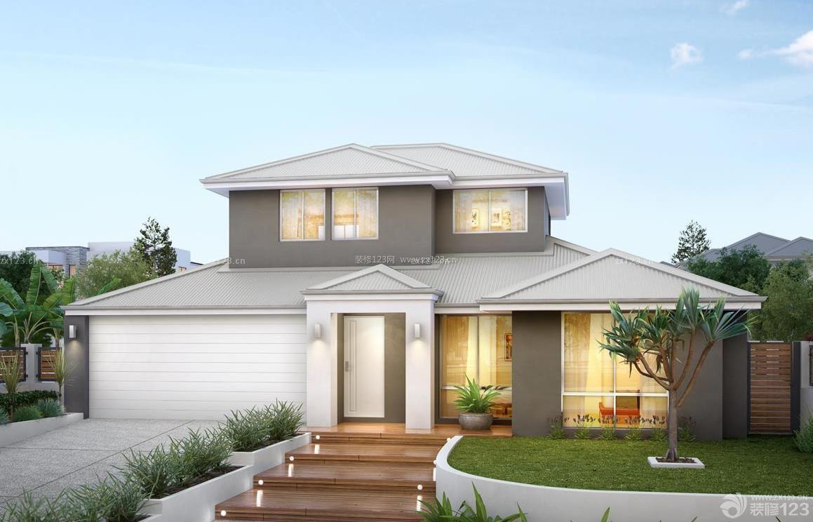 现代设计风格农村别墅图片欣赏图片