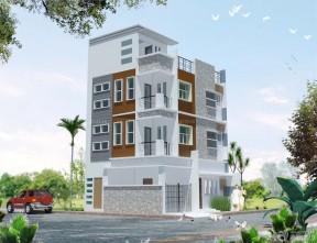 農村三層房屋設計圖 農村別墅設計
