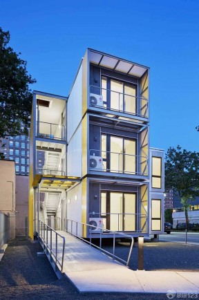 农村三层房屋设计图 独栋别墅