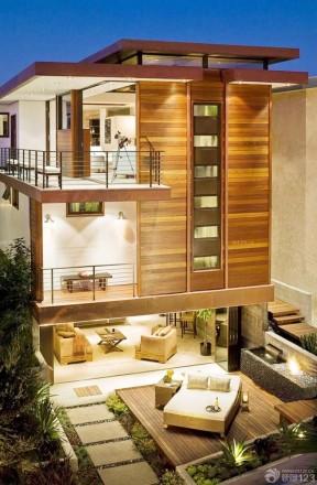 农村三层房屋设计图 木结构别墅