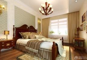 房屋裝修設計圖 雙人床裝修效果圖片