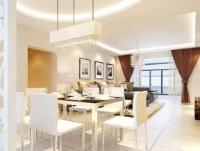 新房餐廳裝修效果圖 餐廳吊燈圖片