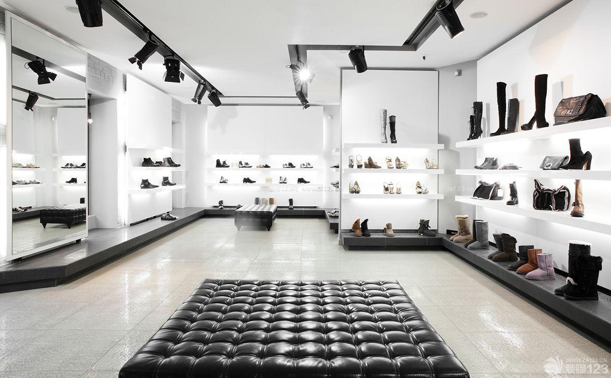 时尚简约现代风格鞋店装修图片样板