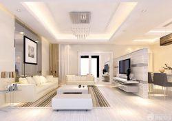新房客廳沙發背景墻裝修效果圖片大全